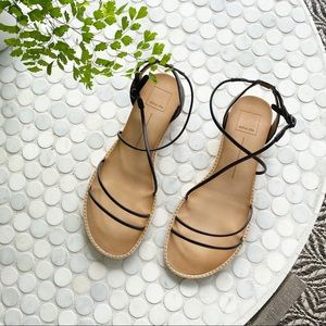 NWT Dolce Vita Summer Sandals in Black Size 9.5